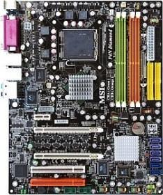 MSI P4N SLI-F, nForce4i SLI (dual PC2-5300U DDR2) (MS-7160-020)