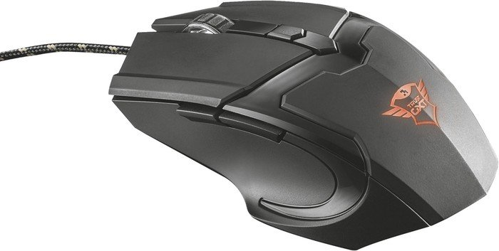 Trust Gaming GXT 782 Gaming Mouse + Mousepad, schwarz, USB (21142)