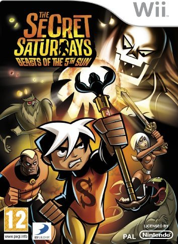 Secret Saturday: Beasts of the 5th Sun (deutsch) (Wii) -- via Amazon Partnerprogramm