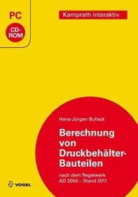 Vogel Business Media calculation of pressure tank-Bauteilen (German) (PC)