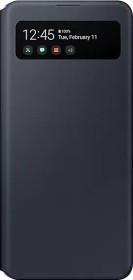 Samsung S-View Wallet Cover für Galaxy A41 schwarz (EF-EA415PBEGEU)