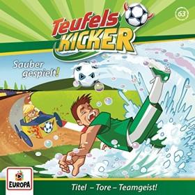 Teufelskicker Folge 63 - Sauber gespielt!