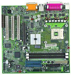 ABIT BD7m, i845m, µATX (DDR)