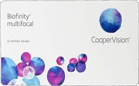 Cooper Vision Biofinity multifocal, -5.00 Dioptrien, 6er-Pack