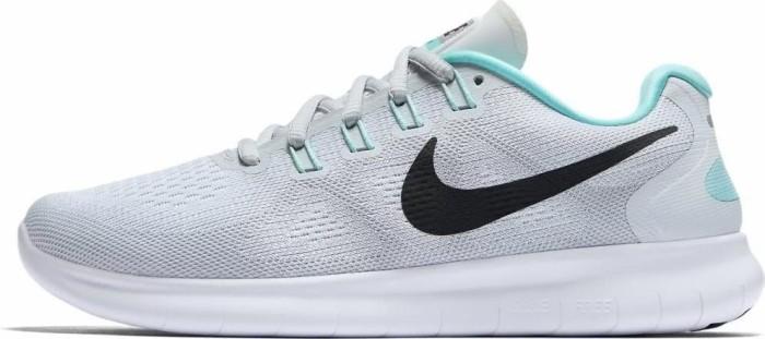 Nike Free RN 2017 white/pure platinum/aurora/anthracite (Damen)  (880840-103) ab € 82,49