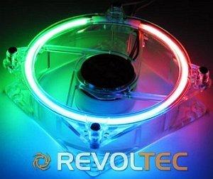 Revoltec CCFL RGB, 80mm (RL014)
