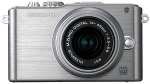 Olympus PEN E-PL3 silver body