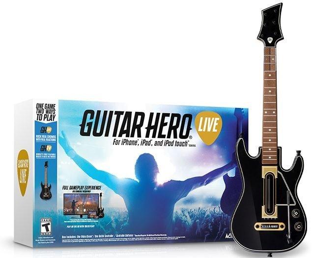 Guitar Hero Live w tym Guitar kontroler (niemiecki) (iOS)