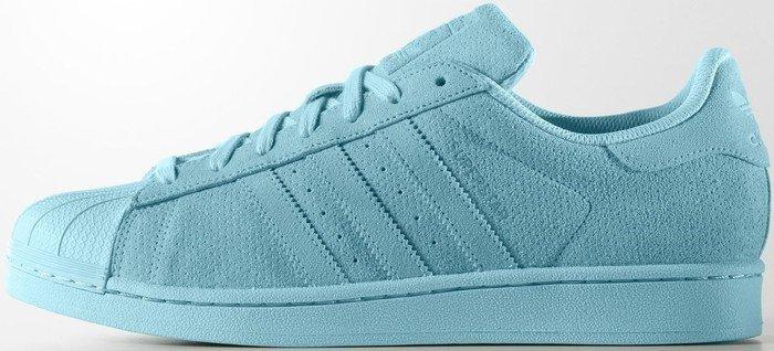 adidas superstar color hellblau
