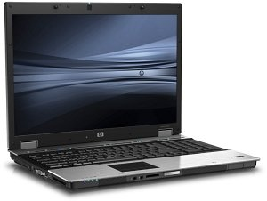 HP EliteBook 8730w, Core 2 Duo T9400 2.53GHz, 2GB RAM, 250GB, Windows XP Professional (FU468EA)