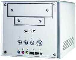 Shuttle XPC SB61G2 Mini-Barebone aluminium (Socket 478/200/dual PC3200 DDR)
