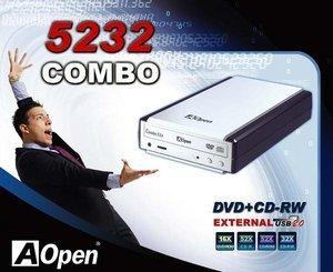AOpen EHB-5232U Combo zewn./USB 2.0 (95.5XD37.006)