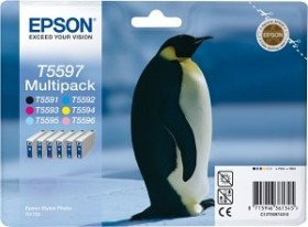 Epson ink T5597 multipack (C13T55974010)