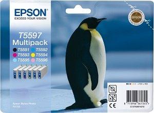 Epson T5597 Tinte Multipack (C13T55974010)