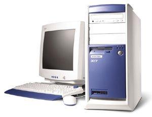 Acer Veriton 7500G, Pentium 4 2.60GHz