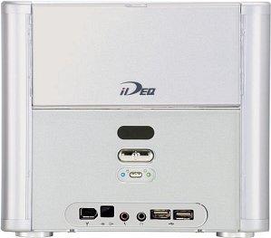 Biostar iDEQ 200A mini-Barebone aluminum (socket 478/3.2GHz, dual PC3200 DDR)