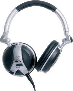 AKG K181 DJ silber/schwarz