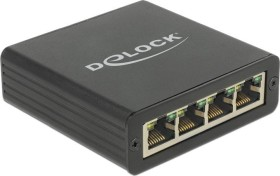 DeLOCK 4x RJ-45, USB-B 3.0 [Buchse] (62966)