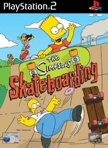 The Simpsons - Skateboarding (niemiecki) (PS2) -- via Amazon Partnerprogramm