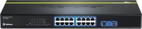 TRENDnet TEG Rackmount Gigabit Smart Switch, 14x RJ-45, 2x RJ-45/SFP (TEG-160WS)