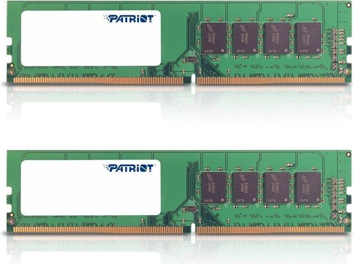 Patriot Signature Line DIMM Kit 8GB, DDR4-2133, CL15 (PSD48G2133K)