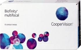 Cooper Vision Biofinity multifocal, -10.00 Dioptrien, 6er-Pack