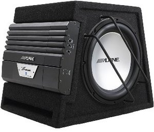 Alpine SWD-3000 Subwoofer enclosure
