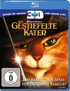 the gestiefelte Kater (2011) (3D) (Blu-ray)