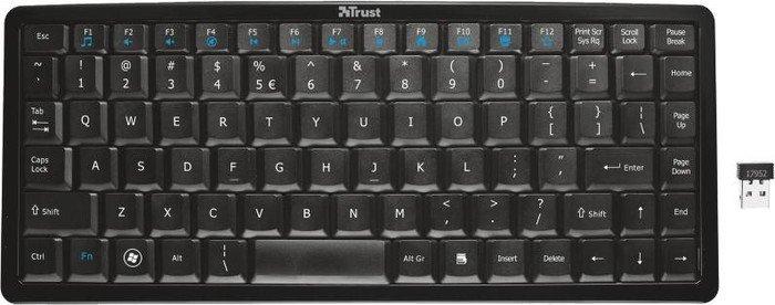 Trust Curve Wireless Keyboard, USB (17952/17954)