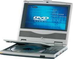 SEG DVD-P707 silber