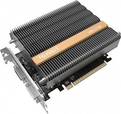 Palit GeForce GTX 750 Ti KalmX, 2GB GDDR5, 2x DVI, Mini HDMI (NE5X75T00941H)