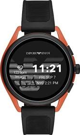 Emporio Armani Connected Smartwatch 3 mit Kunststoffarmband schwarz/orange (ART5025)