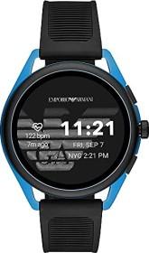 Emporio Armani Connected Smartwatch 3 mit Kunststoffarmband schwarz/blau (ART5024)