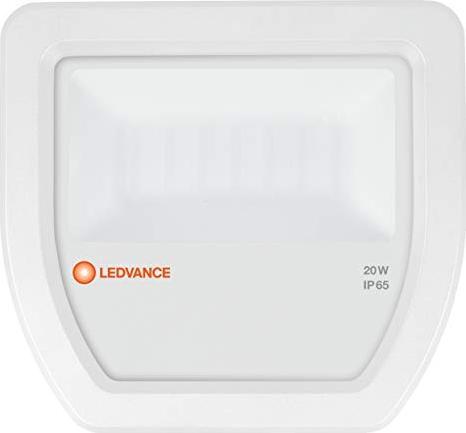 LEDVANCE FLOOD LED 20W 3000K 2100 lm IP65 Floodlight Fluter Scheinwerfer Weiß