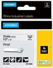 Dymo ID1 Industrial Rhino Pro Beschriftungsband 12mm, schwarz/weiß (18444 / S0718600)