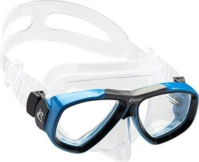 Cressi-Sub Focus double-glass mask clear/black/blue (DS241020)