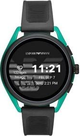 Emporio Armani Connected Smartwatch 3 mit Kunststoffarmband schwarz/türkis (ART5023)