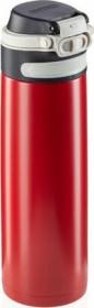 Leifheit Isolierbecher Flip 600ml rot Trinkflasche (03273)