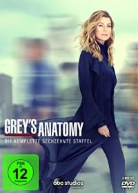 Grey's Anatomy - Die jungen Ärzte Season 16 (DVD)