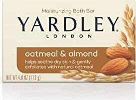 Yardley Oatmeal & Almond solid soap, 120g