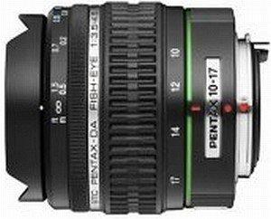 Pentax smc DA 10-17mm 3.5-4.5 ED Fisheye-Zoom schwarz (21580)