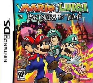 Mario & Luigi 2 - Zusammen durch die Zeit (English) (DS)
