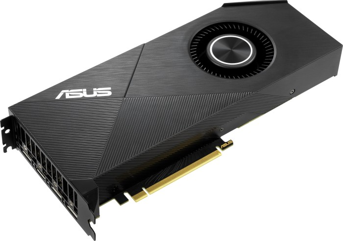 ASUS Turbo GeForce RTX 2080 SUPER Evo, TURBO-RTX2080S-8G-EVO, 8GB GDDR6, HDMI, 3x DP (90YV0DP0-M0NM00)