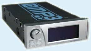 Dension DMP3-A1 MP3-Player, silber