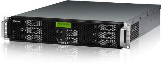 Thecus N8810U-G 32TB, 1x 1GBase/2x Gb LAN