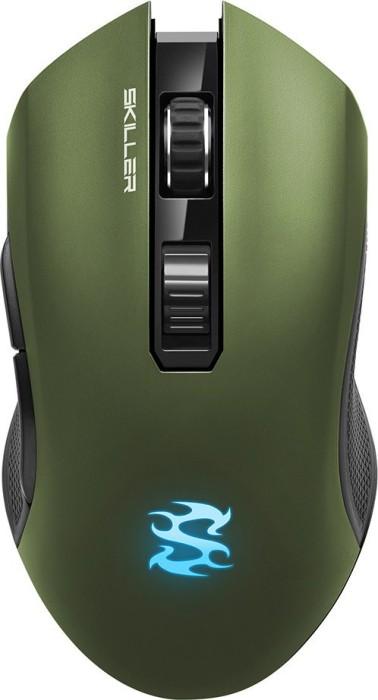 Sharkoon Skiller SGM3 grün, USB