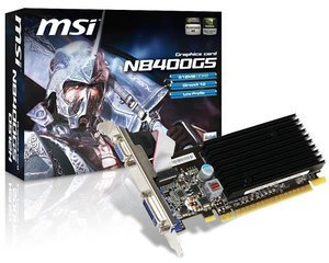 MSI N8400GS-D512H, GeForce 8400 GS, 512MB DDR2, VGA, DVI (V116-029R)