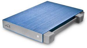LaCie Rikiki Go blue 500GB, USB 2.0 (301938)