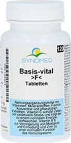 Synomed Basis-vital >F< Tabletten, 120 Stück