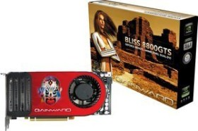 Gainward BLISS GeForce 8800 GTS, 640MB DDR3 (8279)